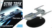 Star Trek Official Starships Collection #164 USS Excelsior Nilo Rodis Concept III Eaglemoss